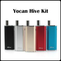 Wholesale New Wax Atomizer Glass - Yocan Hive Kit New Arrivals 2 kinds Atomizer Wax Atomizer 650Mah 12W 4.2V For Wax & Oil