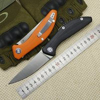 Wholesale bear claws resale online - Bear Claw SIGMA rollover bearing folding knife D2 blade G10 handle outdoor camping hiking hunting pocket fruit knife EDC tool