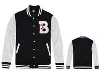 Wholesale Mens Brand Named Clothing - BILLIONAIRE BOYS CLUB brand name fashion BBC baseball jackets for men free shipping outwear coat new hip hop mens clothing free shipping