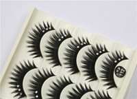 Wholesale Eyelash Extension Glitter - 112 5Pair Women Makeup Beauty Thick 3D False Eyelashes popular messy nature Eyelash Long Diamond Handmade lashes Extension