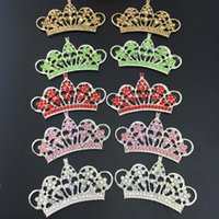 Rhinestone Button Abbellimento Crystal Tiara Corona Bridal Wedding Spilla Pettine Pin Pin