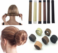 Glamza Frauen Magic Hair Bun Snap Styling Donut Ehemalige Französisch Twist Band Maker # R490
