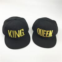 a7952a1a846 Wholesale queen hats online - Cap Mens Baseball Caps Brand King Queen  Couple Hat Snapback Caps
