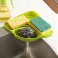 Sink Multipurpose Dish Drying Storage Rack Holder para Esponjas, Scrubbers Corner Shelf Alta calidad Nueva Hot Sell
