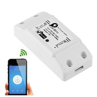 Wholesale DC220v wireless Remote Control Wifi Switch Smart Home automation Intelligent Center for APP Controls