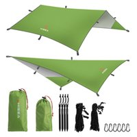 Wholesale Fly Tents - Wholesale- Hisea Hammock Rain Fly Tent Tarp Shelter - Camping Shelter Rainfly Sun Shelters and Sunshade for Beach, Picnic