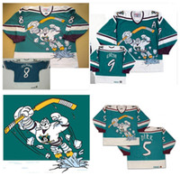 19cf83e7d Anaheim Throwback CCM Mighty Ducks Wild Wing Jersey 5 DIRK 8 Teemu Selanne 9  Paul Kariya 11 Valeri Karpov Stitched Customized Hockey Jerseys ...