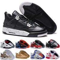 Wholesale Low Price Dark Pink Shoes - [With Box] Classic Basketball Shoes Retro 4 Sports Sneakers Best price Men Retros Shoes Man Zapatillas Authentic Original Real Replicas