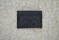 Wholesale Silver Clutches Purses - Fashion Long Style Designer Clutch Women Purse Brand Gold Wallet Lambskin Leather Bifold Credit Card Holders Wallets With Box 31510
