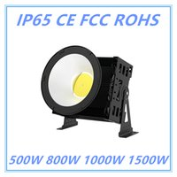 Waterproof Pier Basketball Stadium Football Field Golf Harbour Airport Éclairage extérieur IP65 High Bay 500W 800W 1000W 1500W Led Flood Light