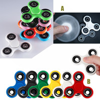 Wholesale Hand Spinners Fidget Spinner Focus Toy Fingertip Gyro Tri Spinner EDC Bearing Toys For Killing Time With Retailed Box