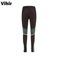 Wholesale Women S Clothing Sex - Vihir Sex High Waist Stretched Sports Pants Gym Clothes Polyester Running Tights Women Sports Leggings Fitness Yoga Pants