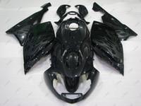 Wholesale Bmw Bodywork - Plastic Fairings K 1200 S 07 08 ABS Fairing for BMW K1200S 2008 Black Bodywork K 1200S 2007 2005 - 2008