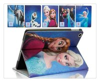 Wholesale Girls Ipad Covers - Leather Case boy&girl cute Cartoon Design PU leather case cover for ipad2 ipad3 case