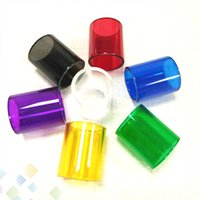 Wholesale Kanger Replacement Glass - Colorful Topbox Mini Replacement Pyrex Glass Tube for Kanger Topbox Mini Atomizer Vapor Replacement Sleeve Tube DHL Free