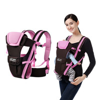Wholesale Backpack Baby Carrier - Beth Bear Baby Carrier Single Double Shoulder Belt Sling Mochila Infant Backpack Carriers Suspenders Child Baby Holding Strap #