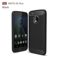 Wholesale Moto Carbon - 10PCS MOBILEPHONE CASE FOR MOTO G5 PLUS SOFT TPU CARBON FIBER ARMOR RUGGED FITTED SLIM CASE FOR MOTO G5 COVER ACCENT TEXTURE