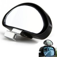 Wholesale Universal Car Side View - Car-styling Universal Car Blind Spot Mirror, Large View Car Rear View Mirror, Adjustable Car Side Blind Spot Mirror