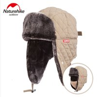 Wholesale Chemical Mask Protection - Naturehike Waterproof Fleece Hat Skiing Winter Warm Hats Ear protection Hat Windproof Skiing Cap With Mask for Travel NH12M012-