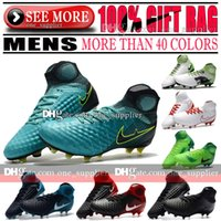 Vente en gros pas cher hauts talons football crampons intérieur MagistaX Proximo TF chaussures de football IC New Magista Obra II Superfly FG AG ACC chaussures de football