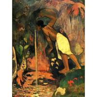 Wholesale paul gauguin paintings resale online - Canvas art Repinned Via Onur Aydemir Paul Gauguin Paintings oil reproduction High quality Hand Painted
