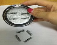 Wholesale Good Magnets - Goods in stock!!3d Magnetic eyelashes Handmade Thick Eye Lashes Extension makeup Tools full Strip No gule magnet eyelashes