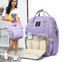 Wholesale Traveling Backpacks - Brand Designer baby diaper bag backpack Big Capacity baby care Mother backpack organizer waterproof traveling nappy changing bag