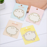 Wholesale Adhesive Memo Pad - hot sale kawaii stationery sticky memo pads cute cartoons sticky note office scrapbook agenda stickers 8*9 cm