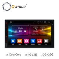Wholesale Gps Tpms - Ownice C500 Android 6.0 Octa Core 2GB RAM 32GB ROM Universal 2 Din Car DVD Radio Player Support 4G SIM Card DAB+ DVR TPMS (No DVD)