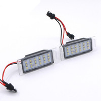 Wholesale White Smd Led Number - Eonstime 2Pcs Car LED Number License Plate Lights 12V White SMD LED Bulb Kit for Chevrolet Cruze Camaro 2010-2014 Accessories