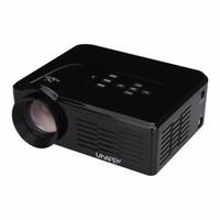 Wholesale Manual Atv - Wholesale-Original Uhappy BL35 Multimedia Mini LED Projector 640*480 Pixels USB SD VGA HDMI AV Micro USB ATV Home Theatre Cinema Proyector