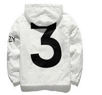Wholesale Mens Coats Xl Usa - YEEZUS Jacket Men KANYE WEST Hip Hop Windbreaker MA1 Pilot Mens Jackets Tour Jaqueta Masculina Season 3 Coat USA size