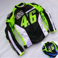 Wholesale Racing Bike Jackets Free Shipping - Free shipping 1pcs NEW Men Motorcycle Moto Bike Jacket Racing Suits Armor Riding Clothes with 5pcs pads