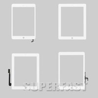 Wholesale For ipad mini2 air Digitizer Touch Screen Pannel Glass Faceplate Repair Part Replacement