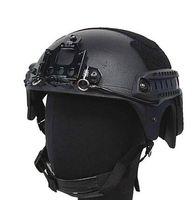 casco del ejército del airsoft al por mayor-Casco táctico al aire libre del casco de seguridad del casco de la alta calidad del ejército Casco táctico al aire libre de IBH para el juego de la guerra del airsoft de Paintball