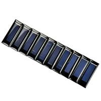 Wholesale Mini Pv - Batteries Cells, Panel 10Pcs Mini Solar Panel DIY Solar Cells Accessories Photovoltaic Module PV Module 0.5V 100mA 53*18*2.5mm