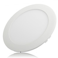Wholesale energy saving ceiling led panel - Wholesale- Free shipping Ultrathin 25W LED Ceiling Round Panel Down Light Lamp + Drivers