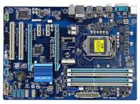 материнская плата lga1155 оптовых-Оригинал для гигабайтных плат GA-Z77P-D3 LGA 1155 DDR3 Z77P-D3 32 ГБ USB3.0 Z77 настольная материнская плата