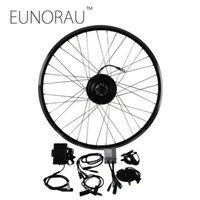 Wholesale brushless motor bicycle - 20inch 26inch 28inch wheel E Bicycle Conversion Kit 36V250W Brushless Gear Front Hub Motor Kit street use