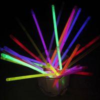 Wholesale Glow Sticks Rave Wholesale - Neon LED Light Sticks Multi Color Hot Glow Stick Flash Bracelet Necklaces Children Adults Party Rave Toys Gifts Free DHL 287