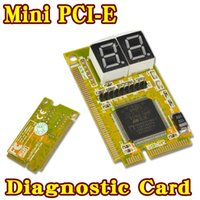 Wholesale Digit Cards - 3 in 1 Mini PCI-E Express PCI LPC Tester Diagnostics Combo Debug Card Adapter for Notebook Laptop Computer 2 Digit Analyzer