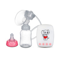 Wholesale Electric Breast Pumping - Suncity Maternal USB Electric Breast Pump With Milk Bottle 150ml High Quality Ready Stock Wholesale