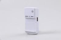 carregador universal da bateria do telefone móvel venda por atacado-Negócio Universal 360 graus 3G Carregador de Bateria Com Saída da Porta USB Para O Telefone Móvel Preto Frete Grátis