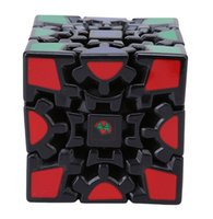 Wholesale Led 3d Puzzles - New Educational Toy 3*3*3 Ultra-smooth 3D Gear Magic Cube Strange-shape 3-Layer Puzzle Cubes Kid Intelligence Toys