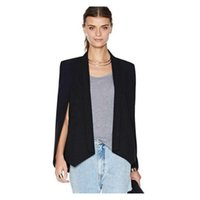 Wholesale Thin Blazers For Women - Sleeveless Blazer Vest For Women Fashion Summer Women Vest Plus Size Black Ladies Vest Coat Free Shipping