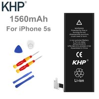 Wholesale 100 Original Brand KHP Mobile Phone Battery For iphone s Real Capacity mAh With Machine Tools Kit