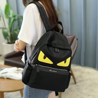 Wholesale New Shoulders Bag Fresh College Wind handbag Little Monsters Leisure Travel Oxford backpack