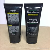 Wholesale 2016 Black Suction Mask Anti Aging ml SHILLS Deep Cleansing purifying peel off Black face mask Remove blackhead Peel Masks