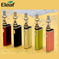 Wholesale Gs Kit - Authentic Eleaf iStick Trim Starter Kit with GS Turbo Atomizer and 1800mAh Built-in Battery 100% Original