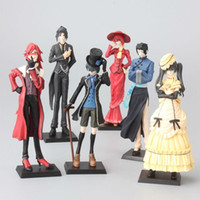 Wholesale anime toys black butler for sale - 6pcs set cm Anime Black Butler Princess Kuroshitsuji Action Figure Model Toys Children Gift Home Decoration Craft akye
